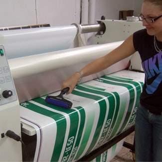 Duster Digitaldruck Reinigung
